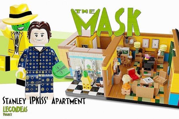 Après Friends, une scène de The Mask recréée en Lego par un Rouennais
