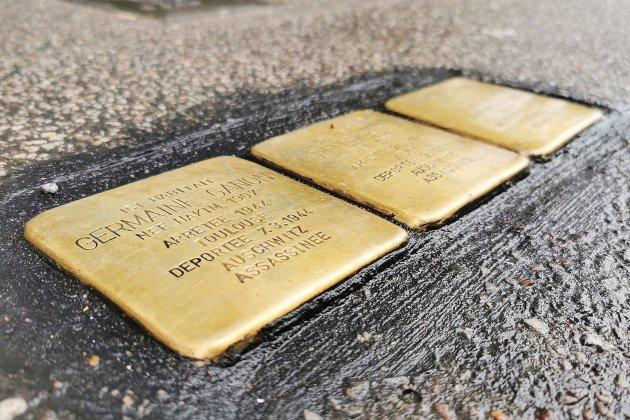 Des Stolpersteine pour honorer la mémoire des victimes de la Shoah
