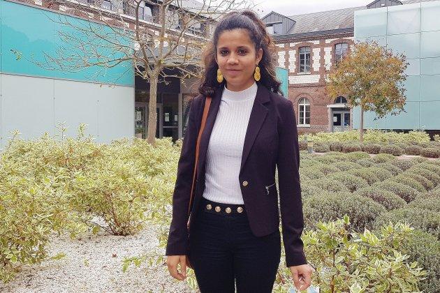 Aurore Lévêque, infirmière au Rouvray, est partie soutenir les soignants en Guyane