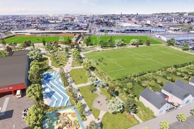 Un parc sportif et paysager pour les quartiers sud