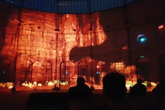 Inédit: un mapping immersif géant à 360° dans la Halle au Blé