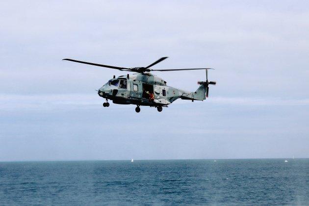 Victime d'un malaise, un marin héliporté au CHU