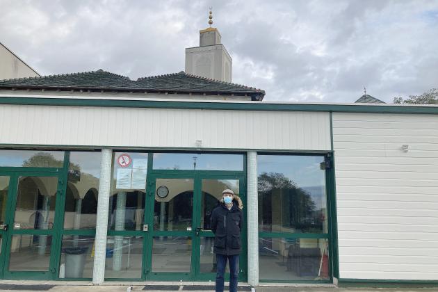 Un prêche à la mosquée en hommage à Samuel Paty