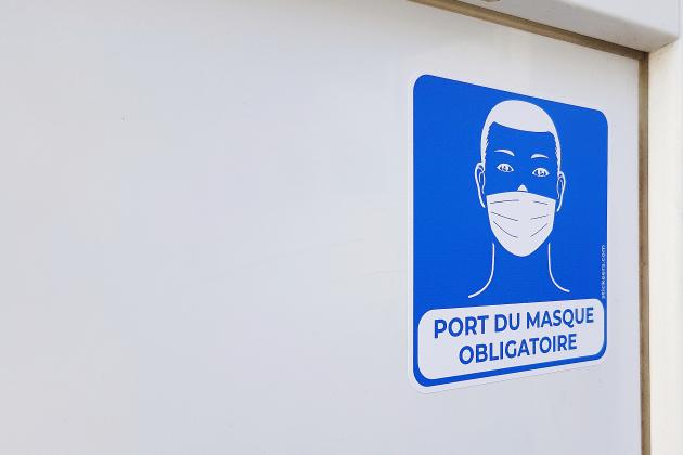 Le port du masque obligatoire dans les 708 communes du département