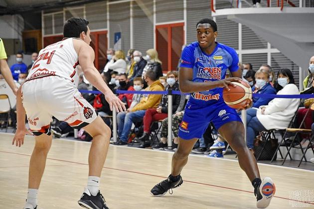 Le Rouen Métropole Basket fait tomber Denain