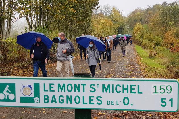 Après un an de travaux, 44km de voie verte s'ouvrent au tourisme