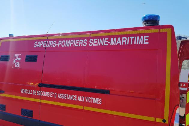 Près de Fécamp. Accident entre trois voitures: une femme grièvement blessée
