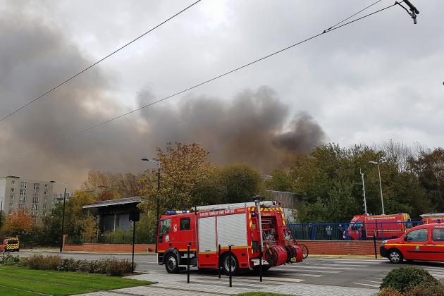Incendie d'un entrepôt: le garçon de13 ans mis en examen