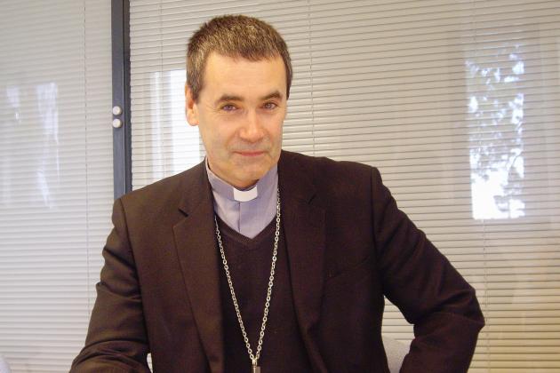 Monseigneur Habert, nouvel évêque du diocèse de Bayeux-Lisieux