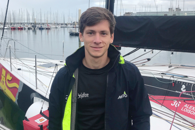 Guillaume Pirouelle, nouveau skipper de la région Normandie