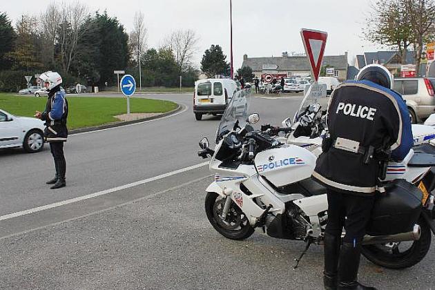Sécurité routière : des CRS à moto déployés sur le département