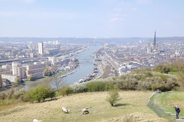 Rouen classée parmi les villes les plus attractives de France