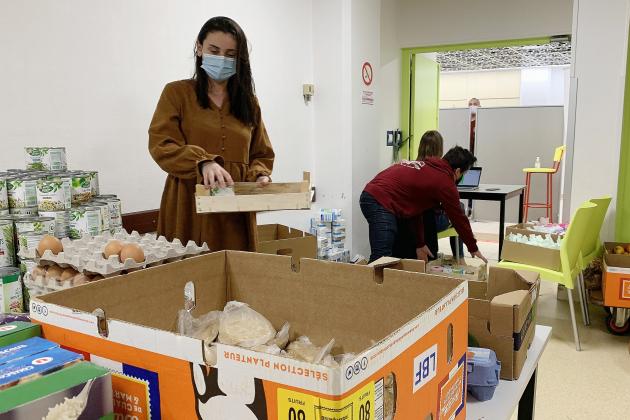 Des distributions alimentaires pour les étudiants face au confinement