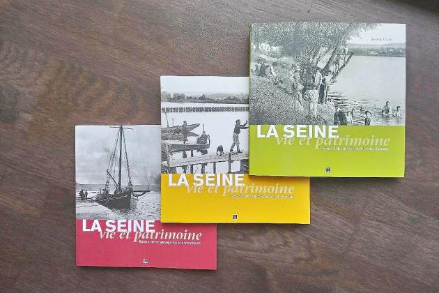La Seine, vie et patrimoine: une série en trois tomes de Jérôme Chaïb