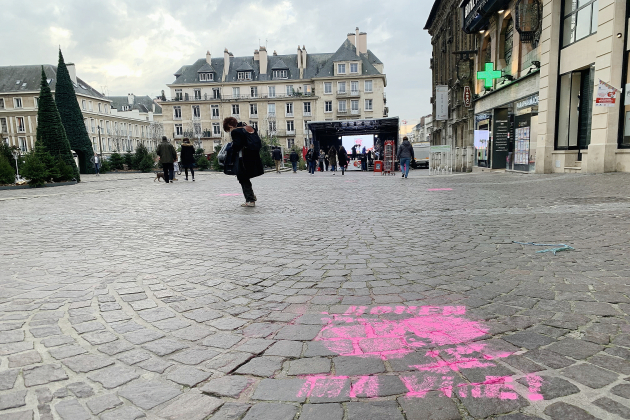 Mobilisation en centre-ville avant la réouverture des commerces