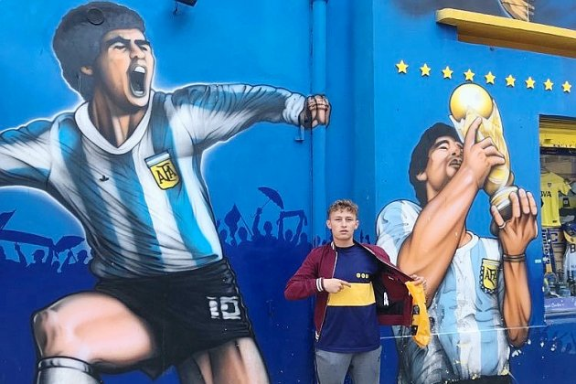 Maradona. Le témoignage de l'association normande Football Globe-Trotters