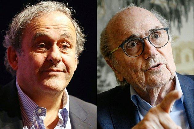 Fifa: Platini et Blatter désormais poursuivis pour escroquerie en Suisse