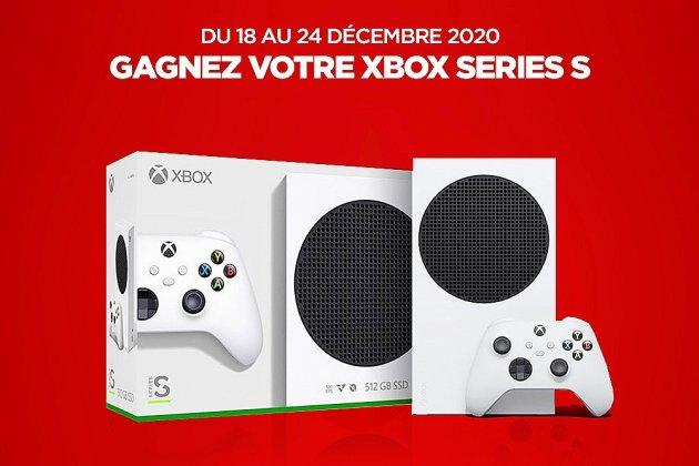 Gagnez la console Xbox Series S avec Tendance Ouest