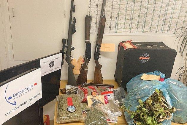 Cannabis, héroïne, cocaïne, armes... Un trafic de stupéfiants démantelé