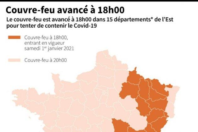 Covid 19 Couvre Feu Avance A 18h Dans 15 Departements Des Samedi