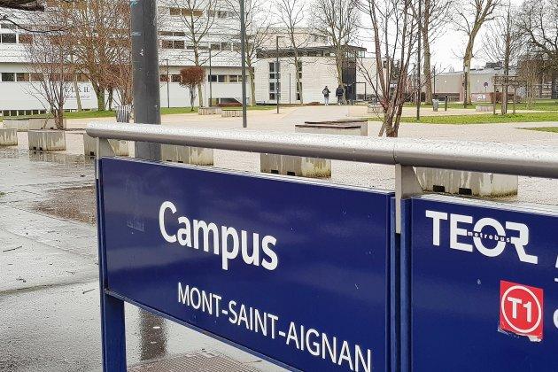 Université de Rouen. Pas encore de reprise des cours en présentiel pour les étudiants