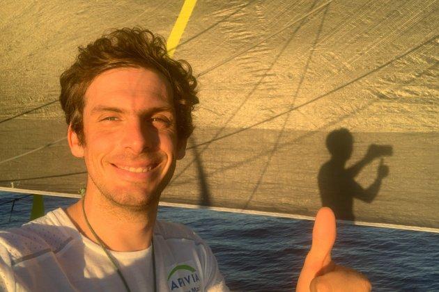 Sur le Vendée Globe, Charlie Dalin bataille pour la première place