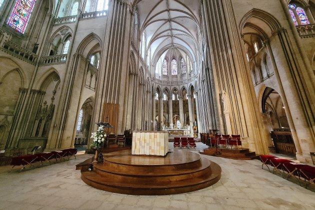 Un nouvel aménagementliturgique pour la cathédrale