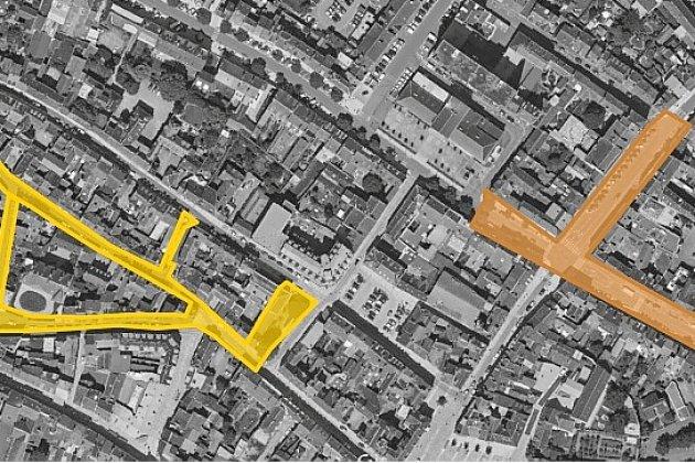 A nouveau d'énormes travaux prévus dans le centre-ville