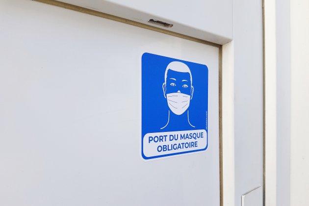 Covid-19: le port du masque obligatoire jusqu'au 16 février