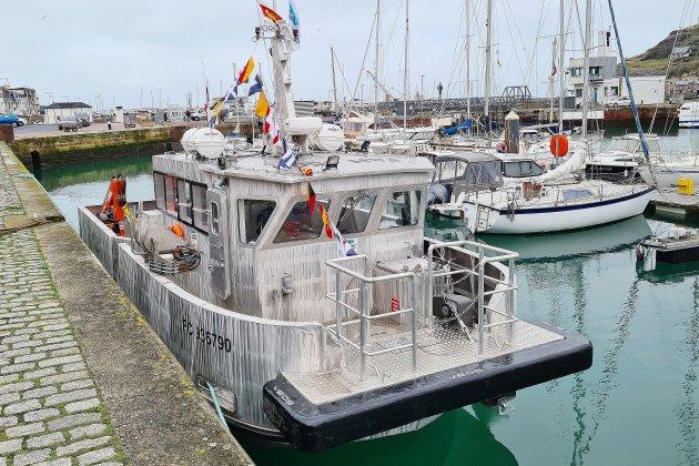 Le premier bateau-école de France est arrivé à Fécamp