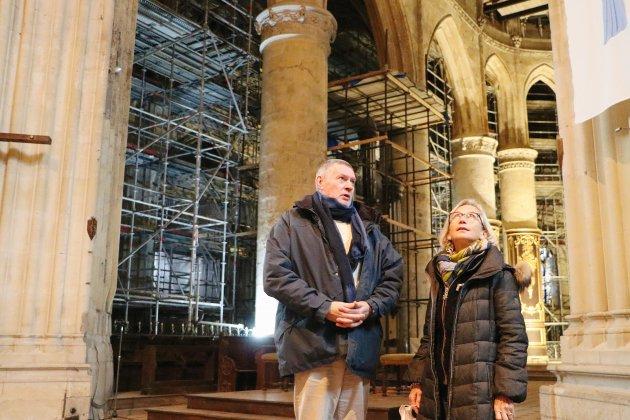 Les travaux de rénovation débutentà l'église Saint-Remy