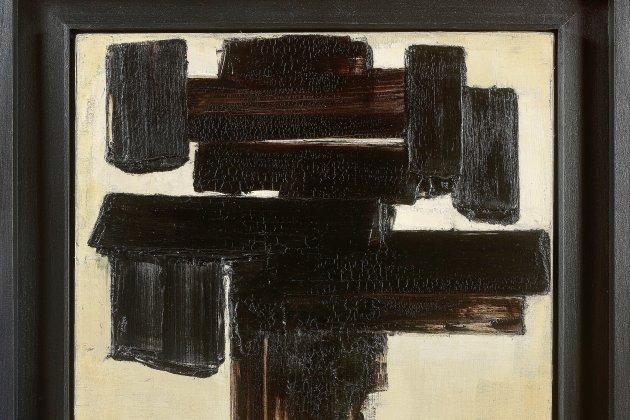 Un tableau de Pierre Soulages vendu plus d'un million d'euros !