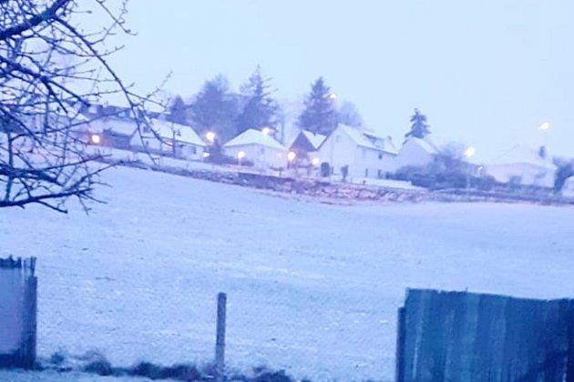 Un réveilsous la neige pour les habitants de Vire