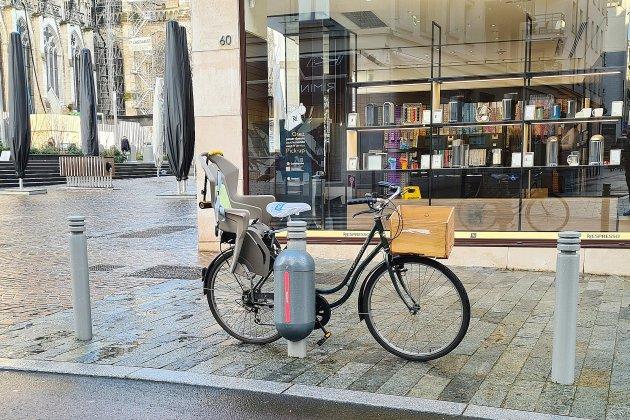 80 cadenas Sharelock pour les vélos ont été installés à Rouen