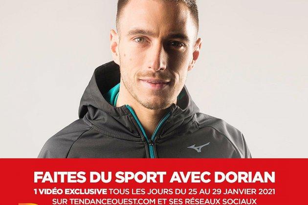 Faites du sport avec Dorian sur Tendance Ouest - jour 5