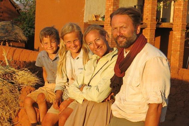 Alexandre Poussin, l'aventure en famille à Madagascar