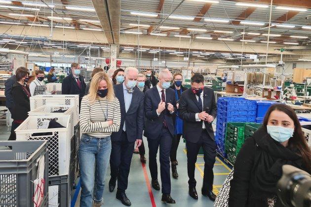 Plan de relance : l'export a la coteaux Tricots Saint-James