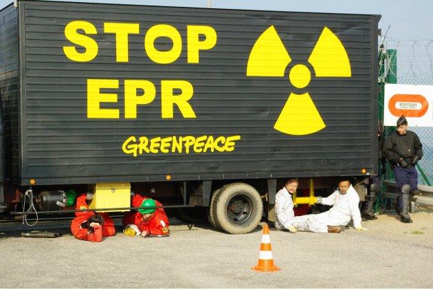 Un convoi de combustible attendu sur le site de l'EPR