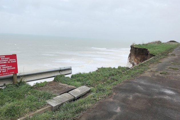 Seine-Maritime. Trois éboulements de falaise en quatre jours à Criel-sur-Mer