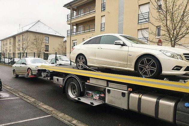 Délits multiplespour deux automobilistes : les véhicules confisqués
