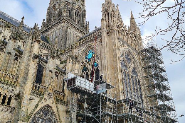 La restauration de la cathédrale se poursuit