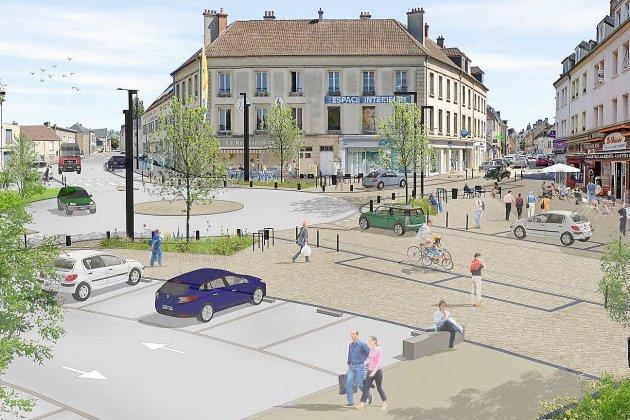 Place du Général-Leclerc: des fouilles menées avant la rénovation