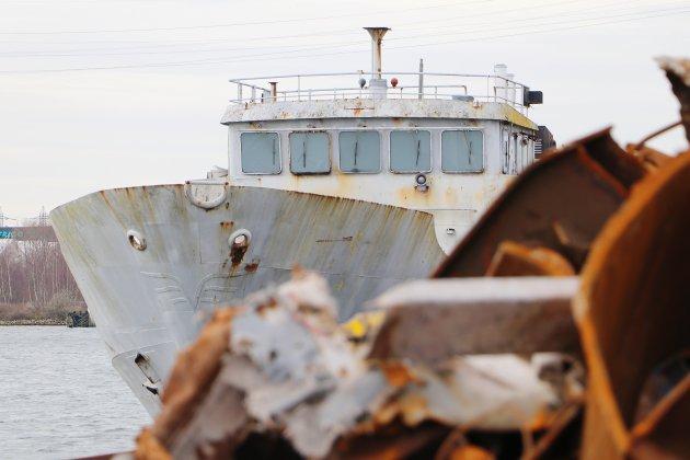 Huit bateaux de la Marine Nationale terminent leur vie au Havre