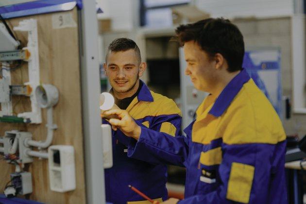 L'avenir du BTP en formation au Bâtiment CFA Normandie