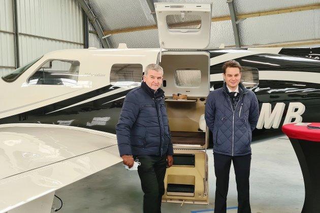 Des avions d'affaires proposés aux PME normandes