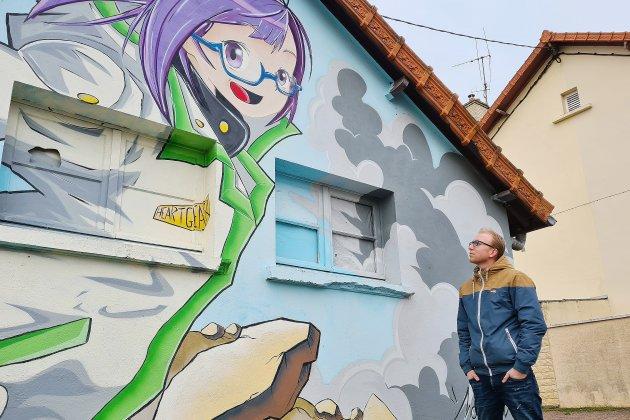 Mookimax, un graffeur qui s'engage à travers son art