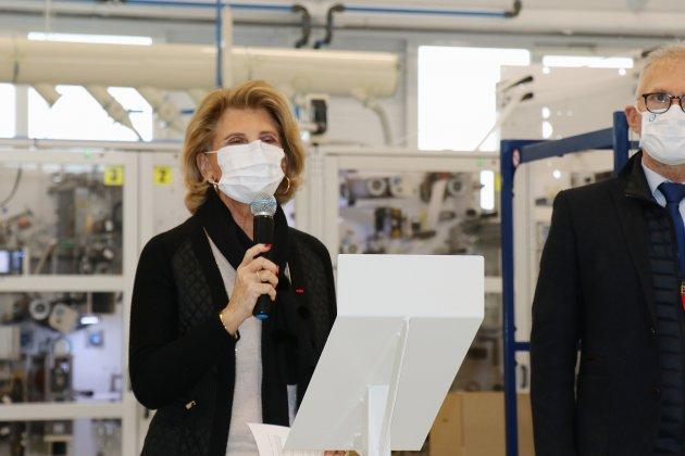Lemoine produit 18 millions de masques par mois pour les magasins E.Leclerc