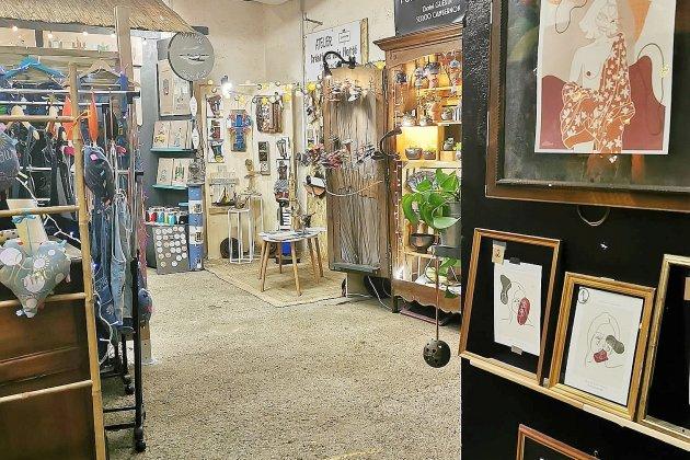 La boutique Art'Itude accueille de nouveaux artistes