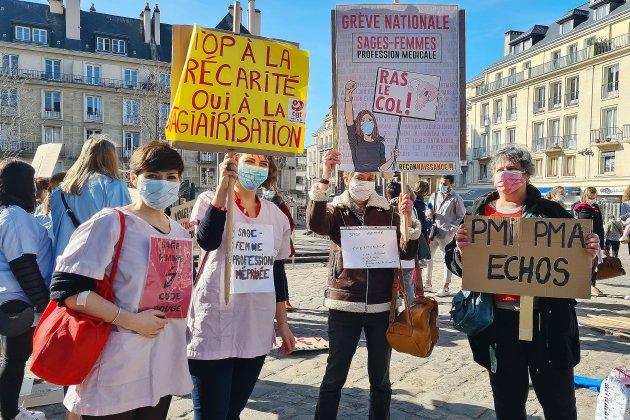 Seine-Maritime. Les sages-femmes mobilisées pour une meilleure reconnaissance