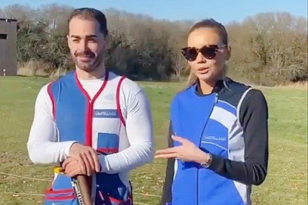 Jeux Olympiques: Miss France Amandine Petit rencontre Éric Delaunay